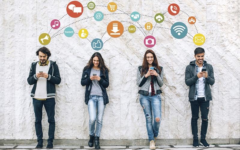 Bộ Quy tắc ứng xử trên mạng xã hội nhằm tạo điều kiện phát triển lành mạnh mạng xã hội tại Việt Nam. Ảnh: Internet.
