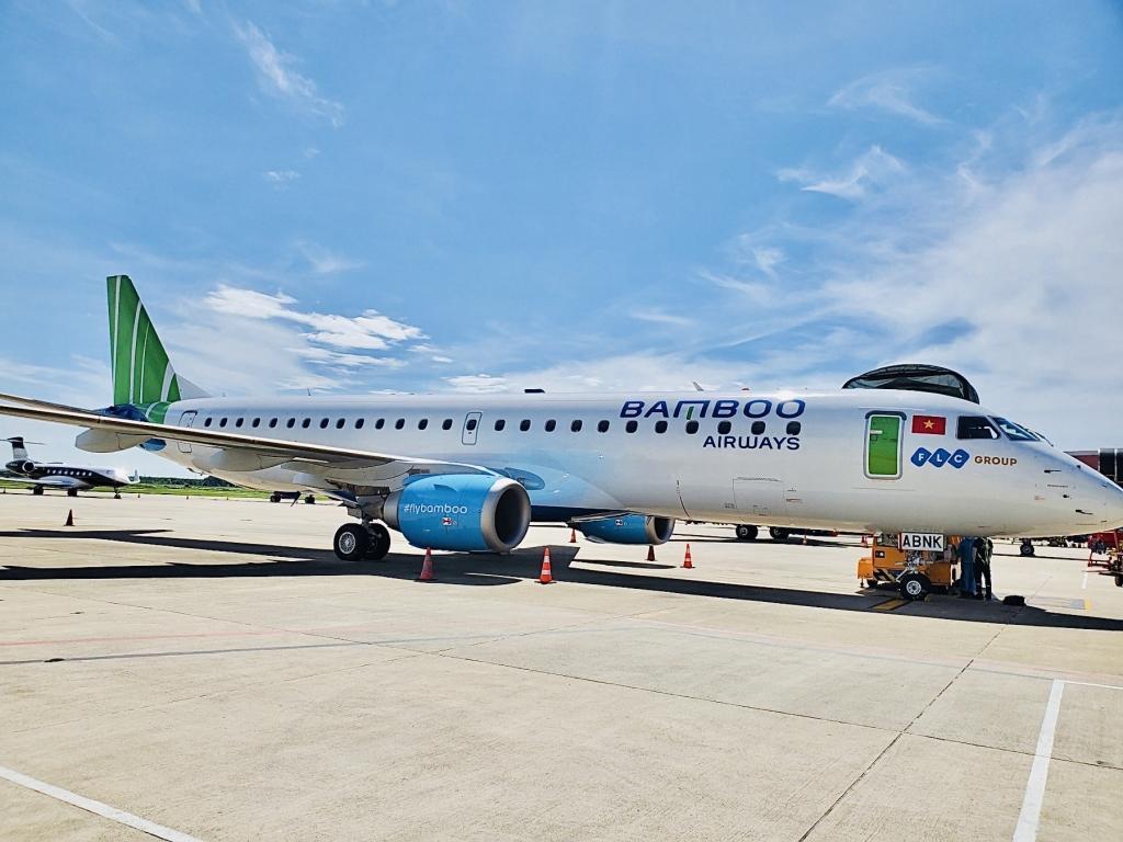 Bamboo Airways đón máy bay phản lực Embraer tiếp theo, liên tục mở rộng đội bay