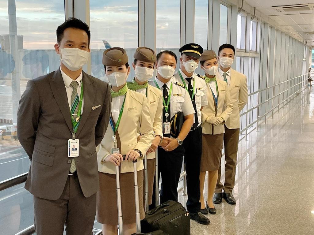 Bamboo Airways đưa 192 công dân Bình Định từ TP. Hồ Chí Minh về quê