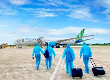 Bamboo Airways phối hợp đưa người dân Gia Lai về quê