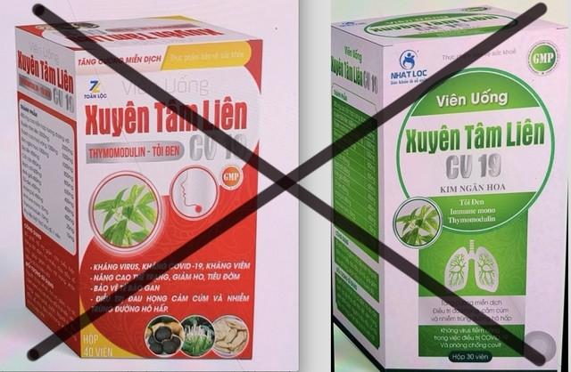 Bộ Y tế cảnh báo khi mua các sản phẩm quảng cáo hỗ trợ điều trị COVID-19