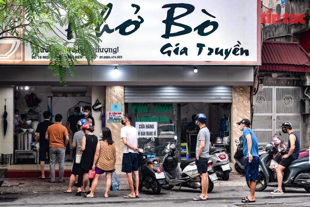 Từ 12 giờ ngày 16/9, Hà Nội mở một số dịch vụ với địa bàn chưa ghi nhận ca nhiễm cộng đồng