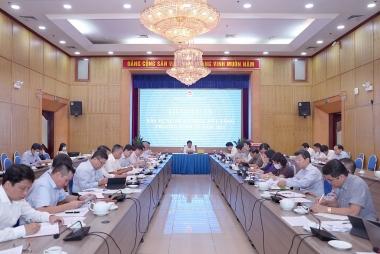 Bộ Kế hoạch và Đầu tư thảo luận Đề án thúc đẩy tăng trưởng kinh tế năm 2021