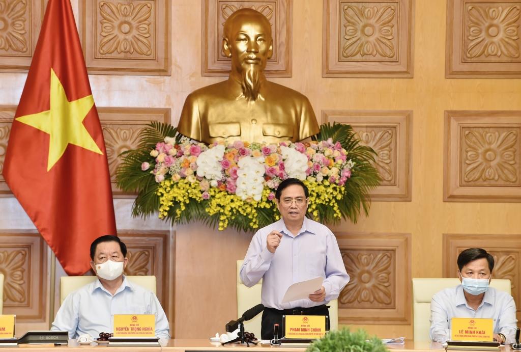 Thủ tướng Phạm Minh Chính: báo chí cách mạng Việt Nam đã góp phần quan trọng để đất nước ta có được cơ đồ, tiềm lực, vị thế và uy tín như ngày nay- Ảnh: VGP/Nhật Bắc