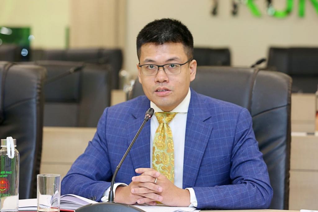 Ông Nguyễn Anh Dương: , thông điệp chúng tôi hướng tới là các biện pháp cải cách kinh tế phải là một phần thiết yếu trong chương trình phục hồi kinh tế ở các thành viên kinh tế.