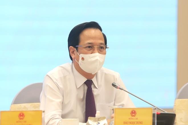 Bộ trưởng Đào Ngọc Dung: Không thực hiện song song 2 gói hỗ trợ