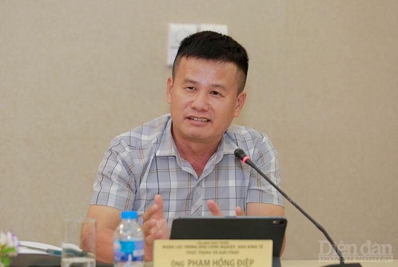 Ông Phạm Hồng Điệp – Chủ đầu tư KCN Nam Cầu Kiền