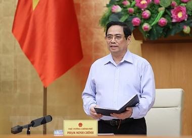 Thủ tướng phát động thi đua thực hiện thắng lợi nhiệm vụ phát triển KTXH