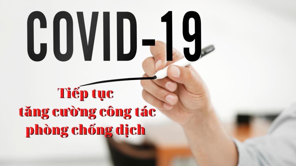 Bộ Y tế ra công điện tăng cường thực hiện các biện pháp phòng, chống dịch COVID-19