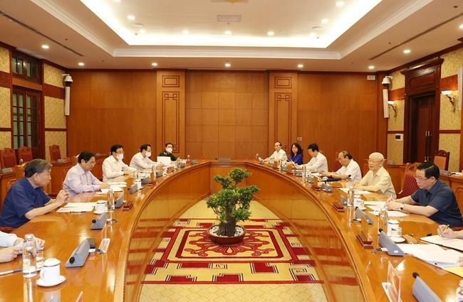 Thống nhất phân công Thủ tướng làm Trưởng Ban Chỉ đạo quốc gia phòng, chống dịch