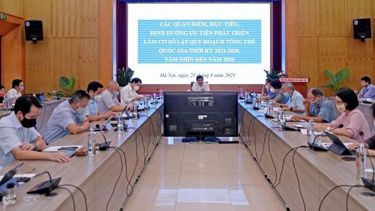 Bộ KH&ĐT họp bàn xây dựng Khung định hướng quy hoạch tổng thể quốc gia