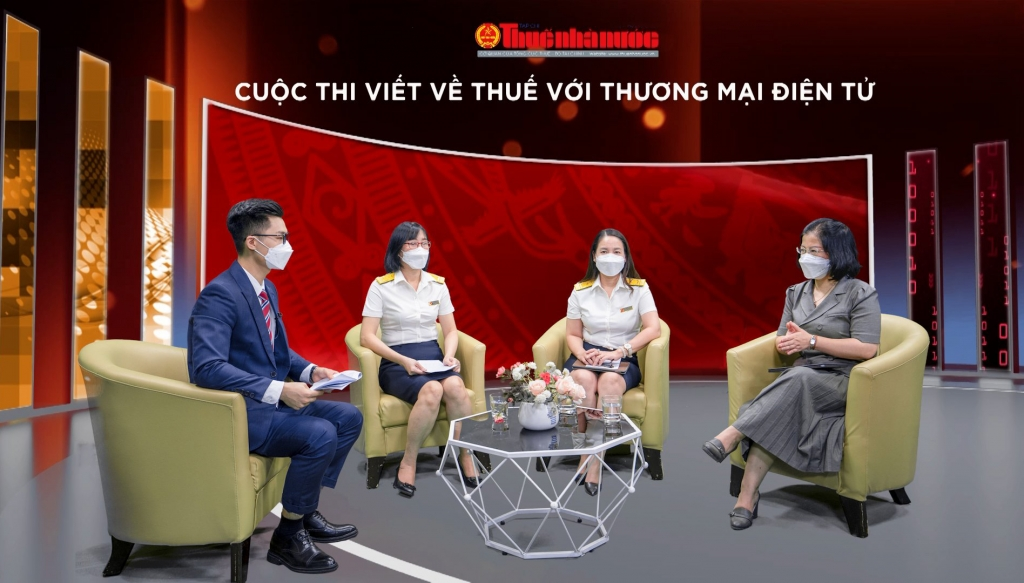 Phát động cuộc thi viết về thuế với thương mại điện tử