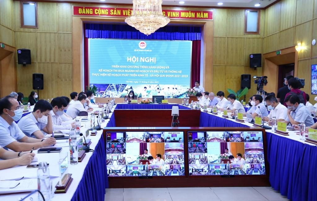 Ngành KHĐT triển khai Chương trình hành động và Kế hoạch thi đua giai đoạn 2021-2025