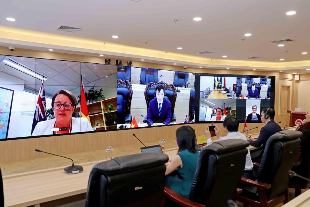 Họp Nhóm công tác đầu tư Việt Nam - Australia: Cải thiện môi trường đầu tư trong bối cảnh Covid-19