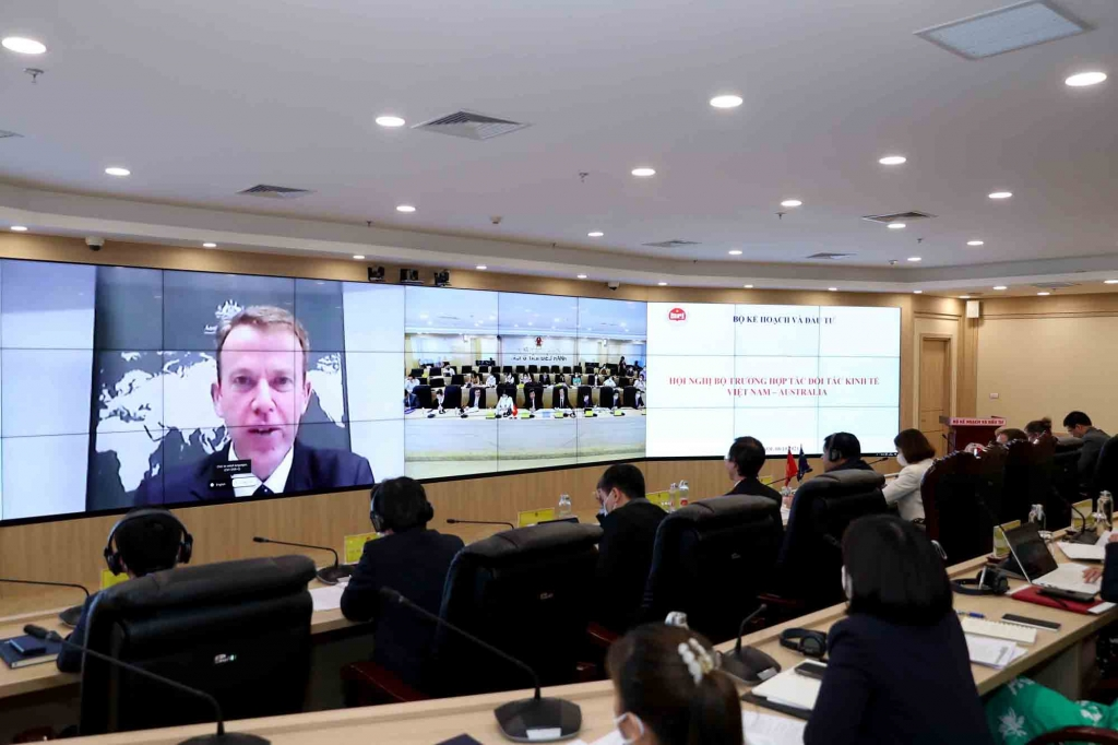 Thông qua nội dung Chiến lược tăng cường hợp tác kinh tế Việt Nam - Australia