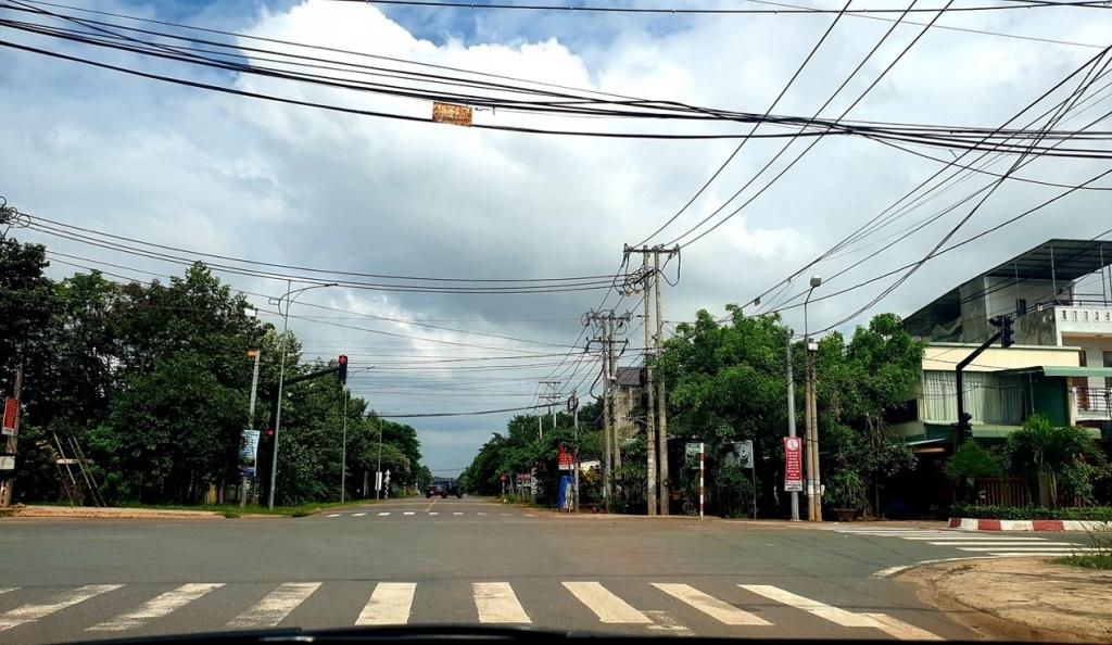 Huyện Vĩnh Cửu: Thị trấn Vĩnh An những ngày giãn cách chống Covid 19