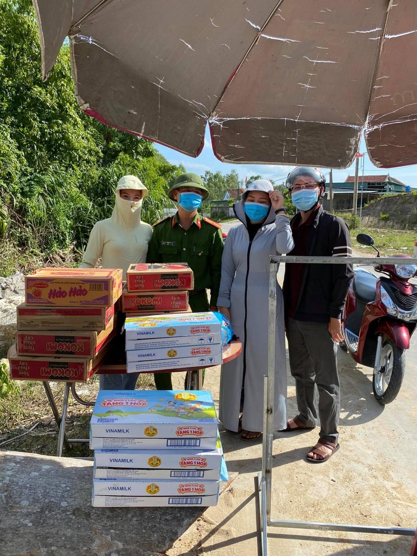 Một chuyến đi đến địa phương của chị Hồ Thị Hoa