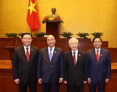 4 lãnh đạo cao nhất của Đảng và Nhà nước trúng cử đại biểu Quốc hội
