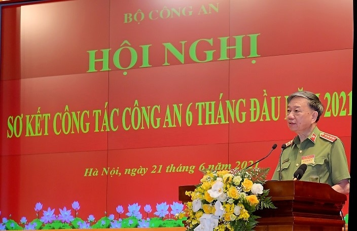 Chủ tịch nước Nguyễn Xuân Phúc: Ngành công an phải nêu cao tinh thần phục vụ nhân dân