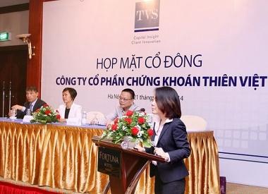 Chứng khoán Thiên Việt giảm tỷ lệ sở hữu nước ngoài xuống 49%