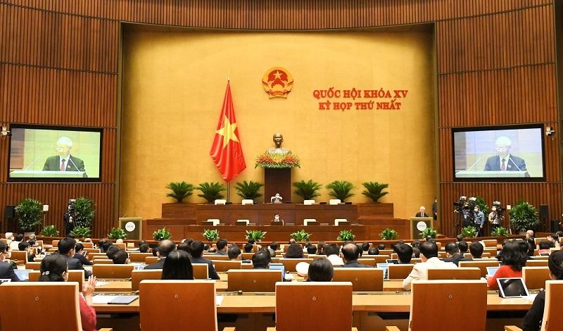 Tổng Bí thư Nguyễn Phú Trọng: Đại biểu Quốc hội cần hết lòng vì nước, vì dân