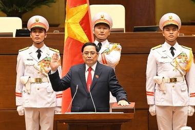 Ông Phạm Minh Chính được tái bầu giữ chức Thủ tướng Chính phủ