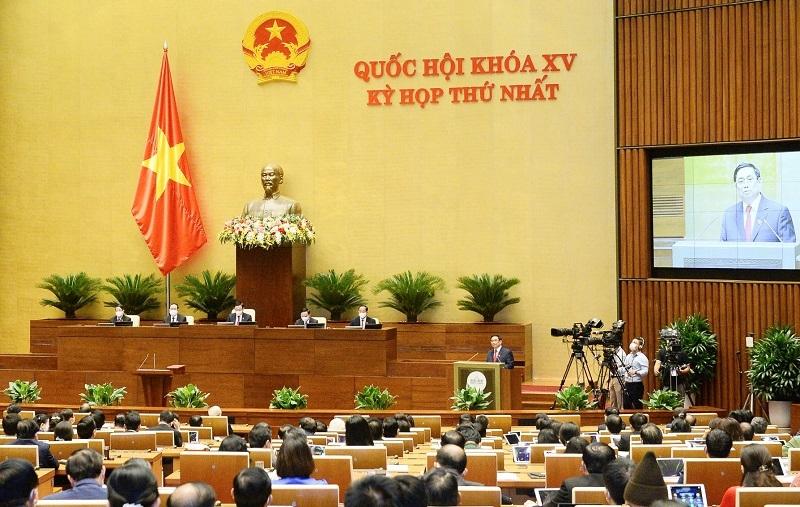Thủ tướng Phạm Minh Chính trình Quốc hội quyết định 27 thành viên Chính phủ