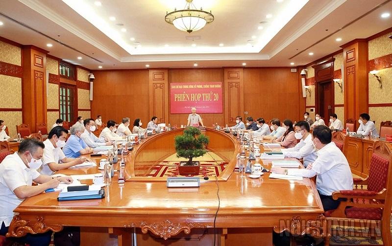 Tổng Bí thư Nguyễn Phú Trọng: Phòng, chống tham nhũng không có vùng cấm