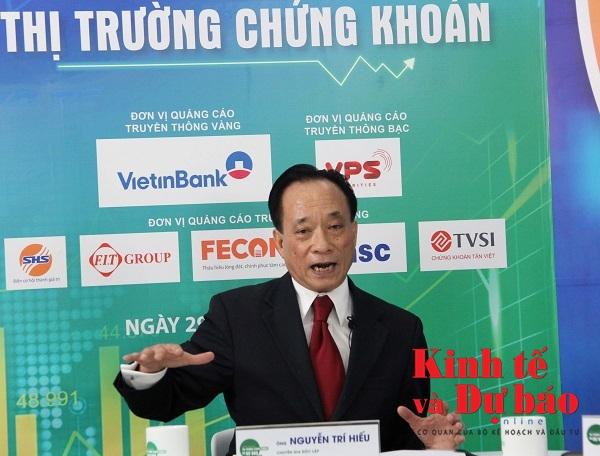 TS. Nguyễn Trí Hiếu: Cần tận dụng thị trường chứng khoán để thúc đẩy cổ phần hóa