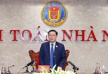 """Chủ tịch Quốc hội Vương Đình Huệ: ngành Kiểm toán phải """"nghệ tinh, tâm sáng"""""""