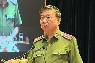 Bộ trưởng Công an Tô Lâm: tăng cường phòng, chống tội phạm trong dịch Covid-19