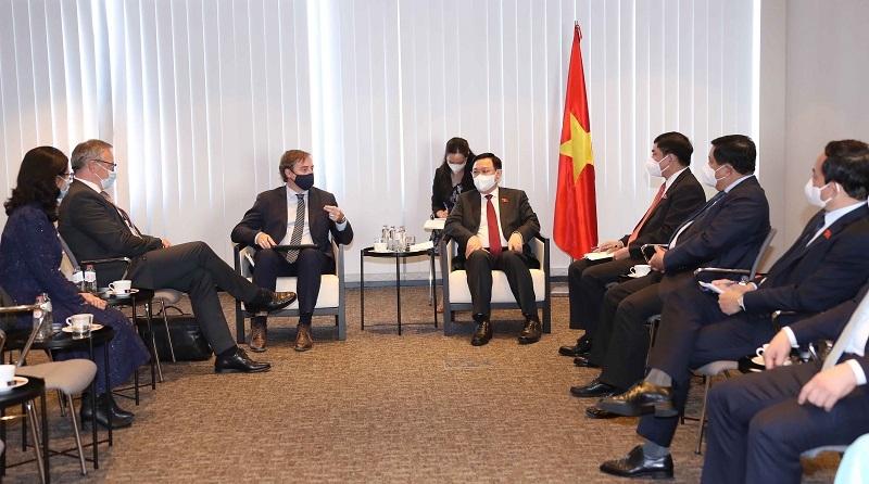 Việt Nam cam kết tạo thuận lợi cho các doanh nghiệp Bỉ