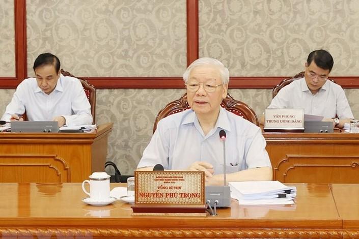 Tổng Bí thư Nguyễn Phú Trọng: Phòng, chống tham nhũng phải gắn liền với phòng, chống tiêu cực…
