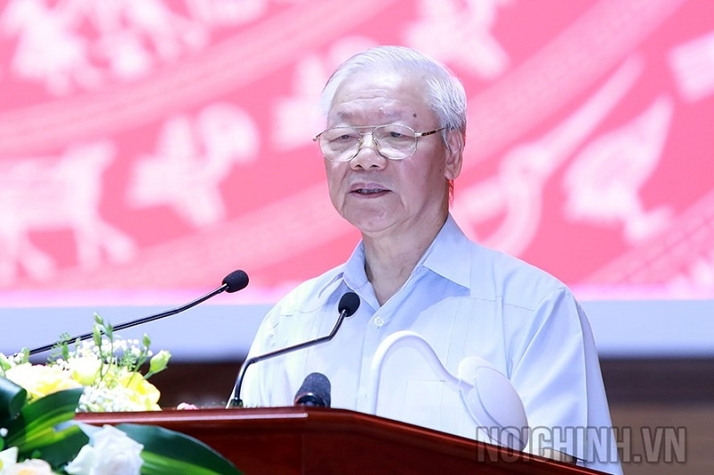 Tổng Bí thư Nguyễn Phú Trọng: Cán bộ cơ quan nội chính phải liêm, phải sạch…