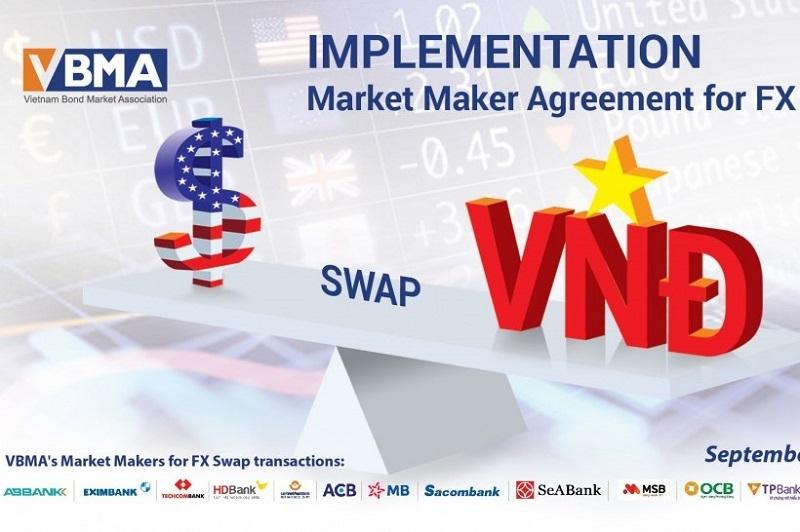 Triển khai thỏa thuận tạo lập thị trường cho giao dịch hoán đổi lãi suất USD/VND