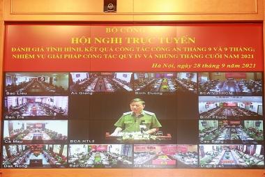 Bộ trưởng Tô Lâm: Không để tội phạm gia tăng hậu Covid-19
