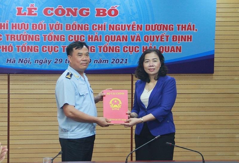 Nhân sự mới làm Phó Tổng cục trưởng Tổng cục Hải quan