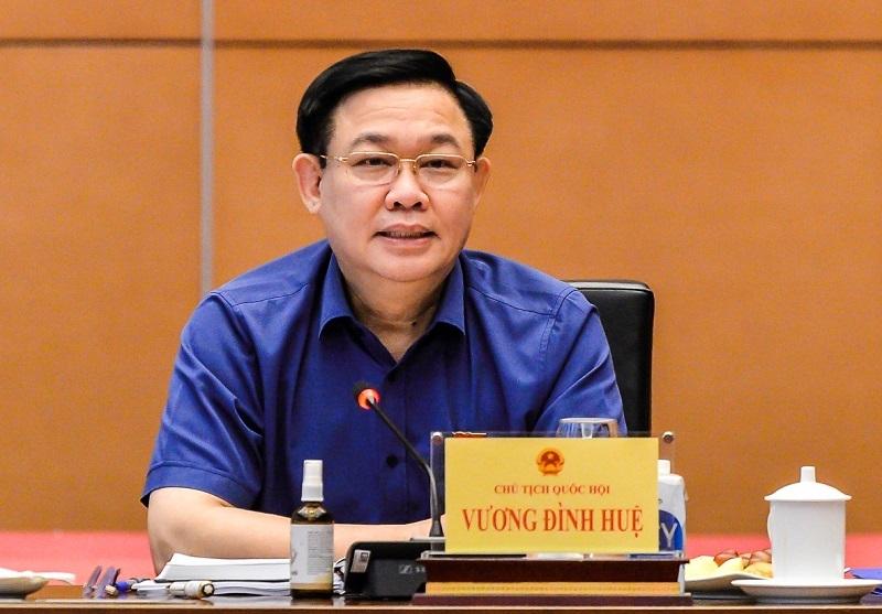 """Chủ tịch Quốc hội Vương Đình Huệ: Cần tăng tính tranh luận và không """"tô hồng"""" thực tế"""