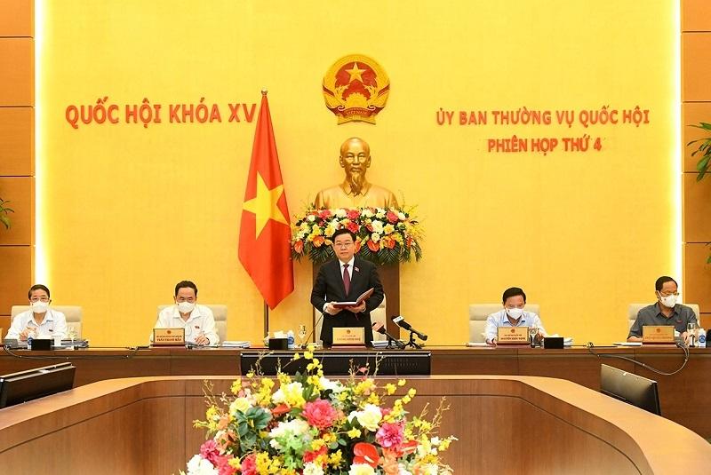 Khai mạc Phiên họp thứ 4 của Ủy ban Thường vụ Quốc hội