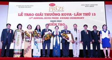 Vinh danh 29 tập thể, cá nhân tại Giải thưởng KOVA lần thứ 13