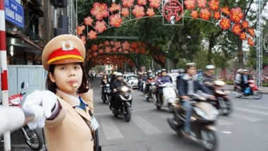 Hà Nội phân luồng giao thông phục vụ Đại hội Đảng toàn quốc lần thứ XII