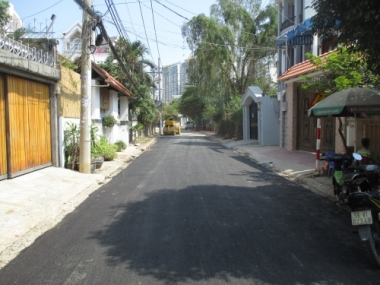 Phản hồi về dự án Gateway Thảo Điền thi công làm sụt lún đường