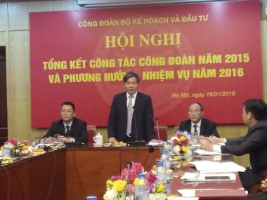 Hoạt động công đoàn đã tạo ra hình ảnh và sức mạnh của Bộ Kế hoạch và Đầu tư