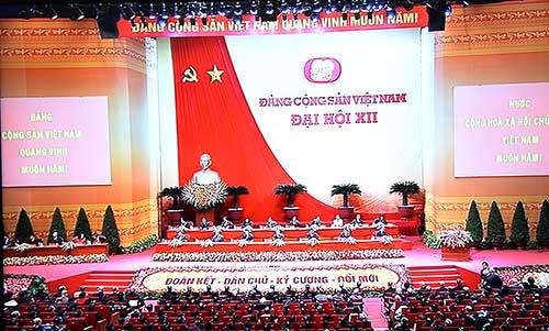 Khai mạc Đại hội XII của Đảng