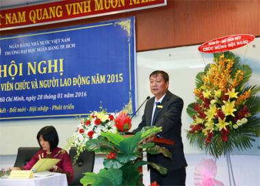 Trường Đại học Ngân hàng TP. Hồ Chí Minh: Hoàn thành xuất sắc kế hoạch năm 2015