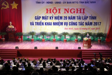 Sau 20 năm tái lập, Bắc Ninh đã cơ bản trở thành tỉnh công nghiệp