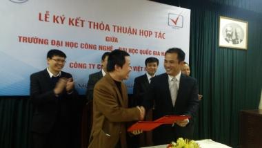 Ký kết thỏa thuận hợp tác giữa Đại học Quốc gia và Công ty VP9 Việt Nam