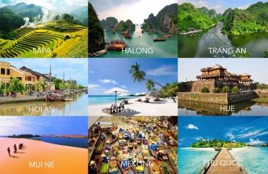 Năm 2017, Việt Nam đứng đầu châu Á về tốc độ phát triển du lịch