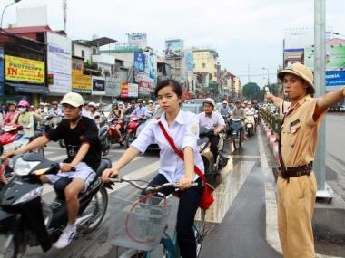 Phân luồng giao thông để phục vụ APPF-26 tại TP. Hà Nội