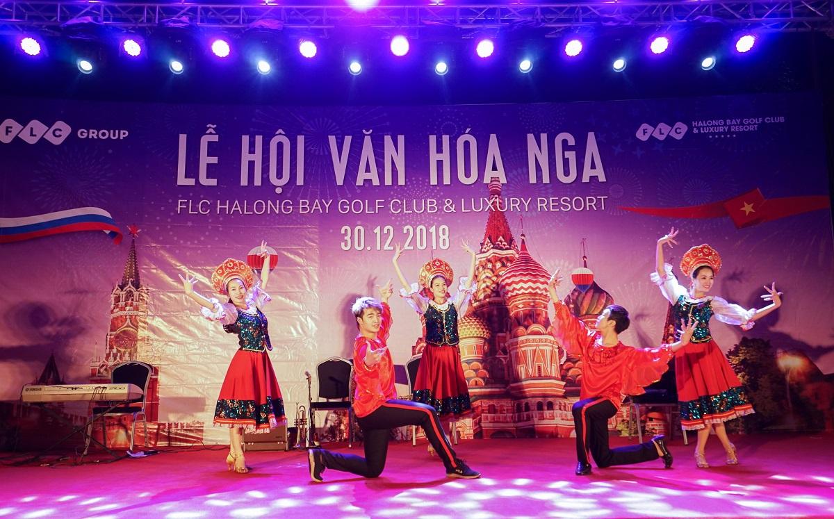 Tưng bừng chuỗi lễ hội văn hóa quốc tế rực rỡ sắc màu tại FLC Hạ Long